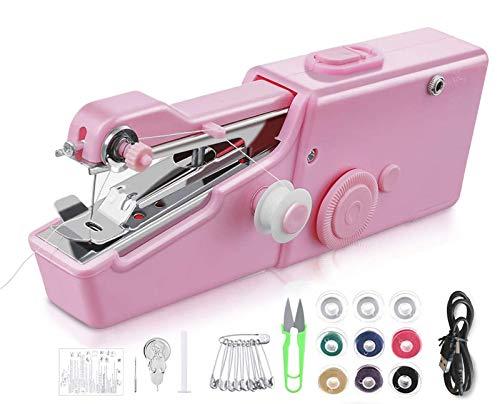 Handheld Sewing Machine, Mini Handy Portable Cordless...