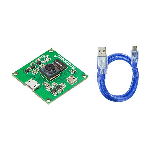 "Arducam 8MP 1080P USB Camera V2 Module for Raspberry Pi, 1/4"" CMOS IMX219 Mini UVC USB2.0 Webcam Board with 1.64ft/0.5m USB Cable for Windows, Linux, Android and Mac OS"