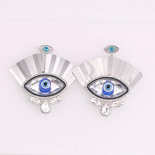 Mode böse Augentropfen Ohrringe Ohrringe für Frauen Schmuck Große Augenbrauen Ohrring Beste Valentinstag Geschenk