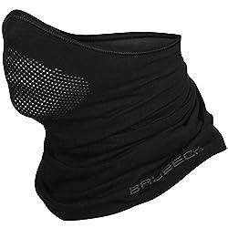 BRUBECK® X-Pro half climate-active face mask balaclava storm mask, sizes: S / M; Color: X-Pro / Black