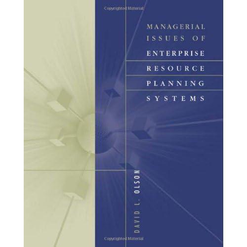 Enterprise Resource Planning Systems: Amazon com