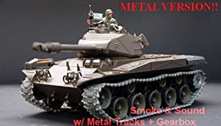 US M41A3 Bulldog Radio Controlled 1/16th Scale Airsoft R/C Battle Tank Upgraded Metal..