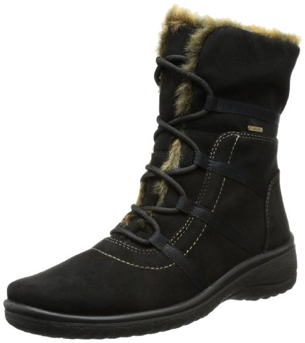 Ara Womens Magaly Gore-Tex 12-48523 Black Nature Fabric Boots 39 EU