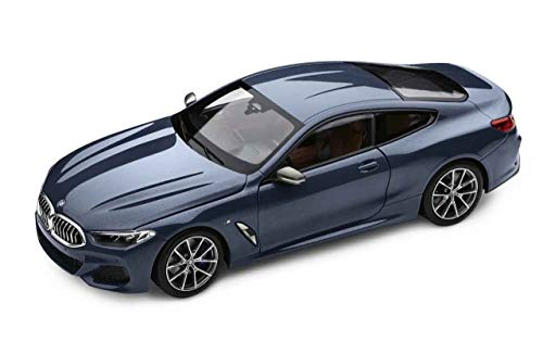 BMW Original 8er Coupe G15 Miniatur Modellauto 1:18 Barcelona Blue - Kollektion 2019/21
