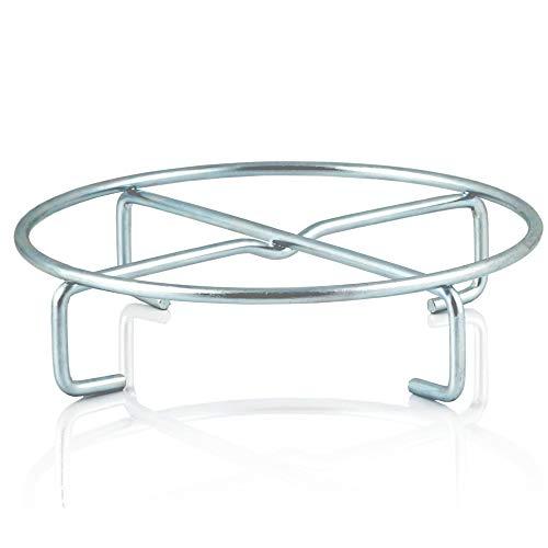 BBQ-Toro Dessous de Plat pour Dutch Oven | Ø 20 x 5 cm | Support pour poêle à Griller, Camping et Autres | sous-Verre pour Four néerlandais