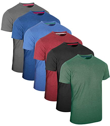 FULL TIME SPORTS® 3 4 6 Paquete Assorted Langarm-, Kurzarm Casual Top Multi Pack Rundhals Camisetas