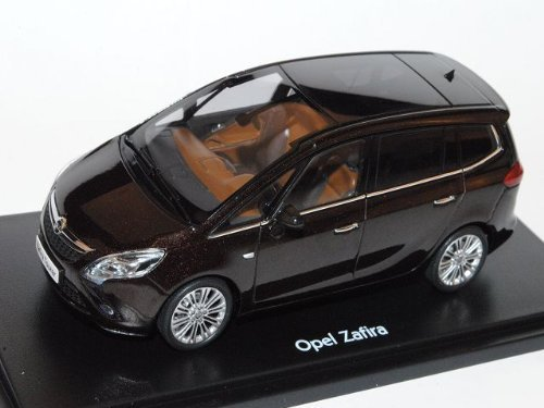 Opel Zafira Tourer Modellauto Mahagonibraun 1:43