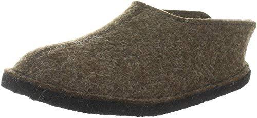 iesse-Schuh-Gmbh Haflinger Smily 311013, Unisex - Erwachsene Pantoffeln, Braun (schoko 552), EU 36
