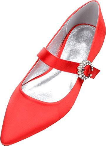 Zapatos de tacón puntiagudos para mujer de moda con tacón de gatito...