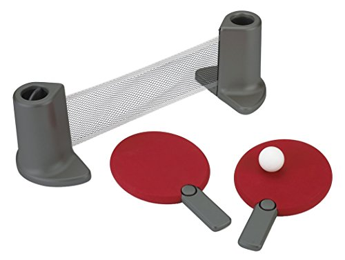 Big Save! Pongo Table Tennis Set Red/Charcoal