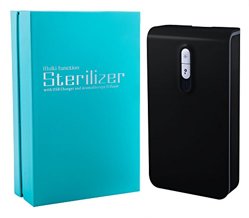 Consolidated Holdings Portable UV Phone Sanitizer and Charger