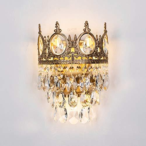 Lámpara de Pared Lámpara de cabecera, lámpara de Cristal, luz de la Pared de la Sala de Estar, Dormitorio, Pasillo Lampara de Pared Exterior