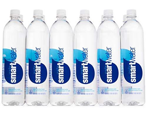Smart Water Bottled Water, 12 Fl Oz,Pack of 12