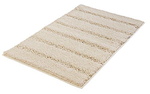 Kleine Wolke Badteppich Monrovia, Sandbeige, 60 x 100 cm