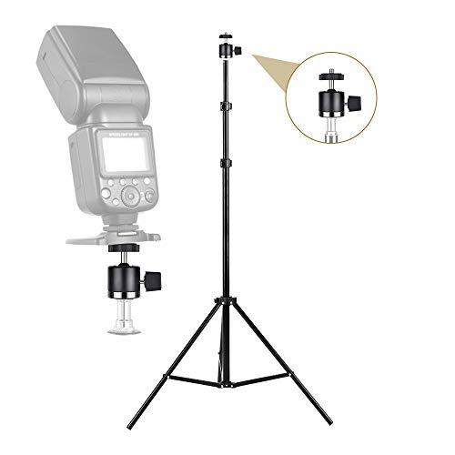 UTEBIT Mini Stativkopf Kugelkopf mit 1/4 Blitzschuhadapter 360° Drehbar Ball Head mit Kamera Hot Shoe Kugelgelenk Halter Kompatibel für Nikon, HTC Vive VR