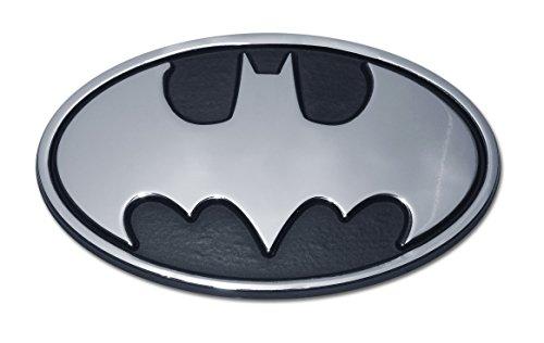 Batman Oval Chrome Emblem