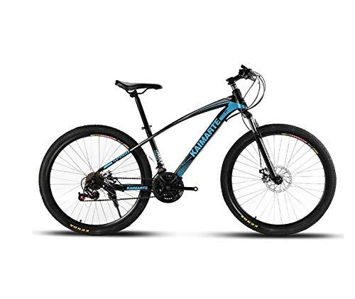 HAOGUO Senior leisureMountainbike 21 speed mountainbike 26 inch wiel dubbele ophanging fiets schijfrem