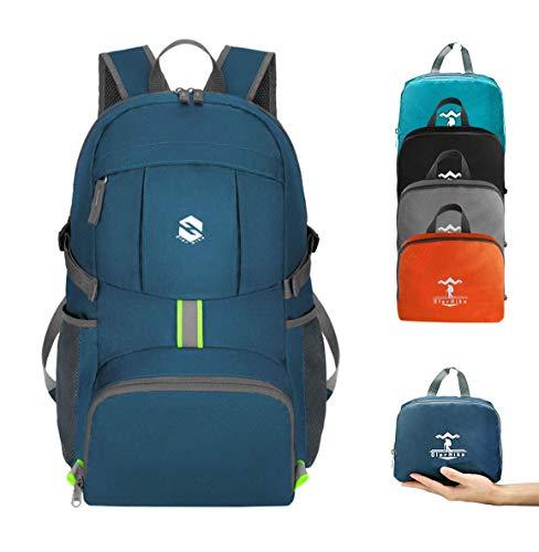 OlarHike Hiking Travel Backpack, Packable Lightweight Backpack for Men Women, Blue