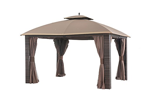 Sunjoy Sonama Wicker Gazebo