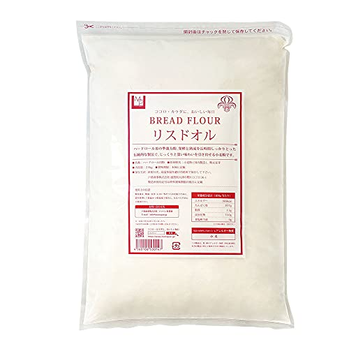 準強力粉 mamapan リスドオル フランスパン用小麦粉2.5kg