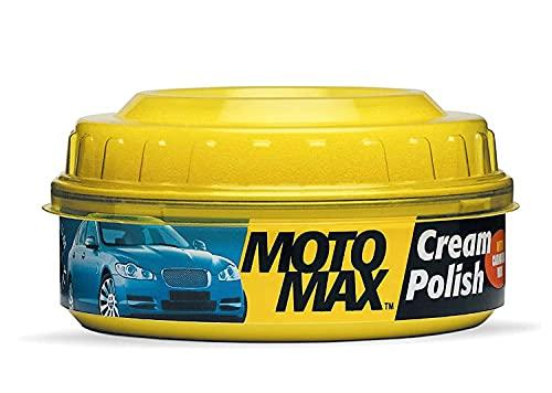 Motomax Pidilite Bike and Car Polish Cream with Carnauba Wax and Micro Polishing Agents, 230 Gm
