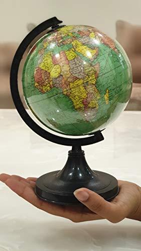 Cosmic globe Exports Educational, Political, Laminated, Green World Globe (5 inch diameter, Small)