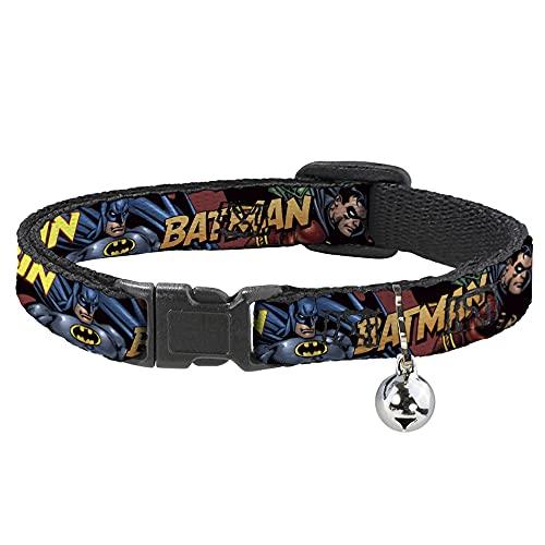 Collare per gatti con scritta'Batman Robin in in Action', 20,3-30,5 cm, 1,3 cm di larghezza