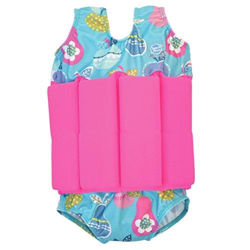 Splash About Costume Galleggiante con galleggiabilità Regolabile, Bambini, Blu (Tutti Frutti), 1-2 Anni