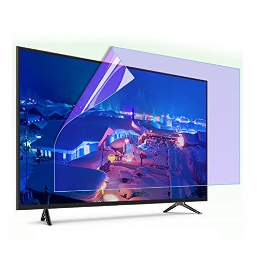 AMDHZ Protector de Pantalla, Fácil de Pegar, para Todos los tamaños de televisores de Marca Antiarañazos, Antihuellas, Antigrasa, protección Ocular (Color : HD Version, Size : 27 Inch 596X335MM)