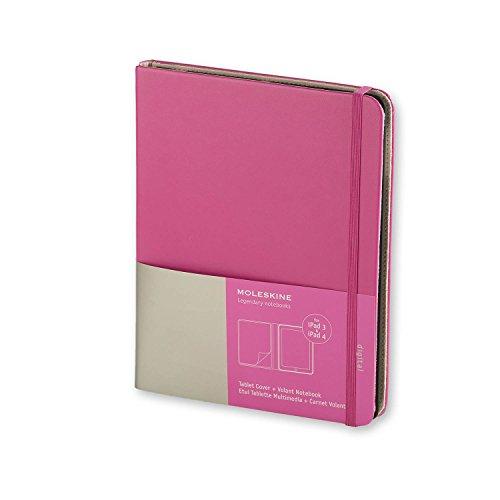Moleskine ET2IPAD3SLD1 - Funda iPad 3 y 4, con cuaderno'Volant', magenta