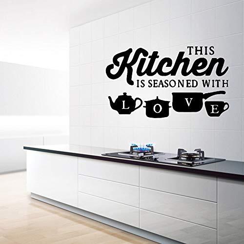 YuanMinglu Adesivi murali casa Cucina Decorati Soggiorno Camera da Letto per Bambini Arte Decalcomania del Vinile 30x51 cm