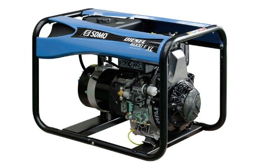 GENERADOR ELECTRICO PORTATIL | SDMO | DIESEL 6000 E XL C | MOTOR KOHLER DIESEL
