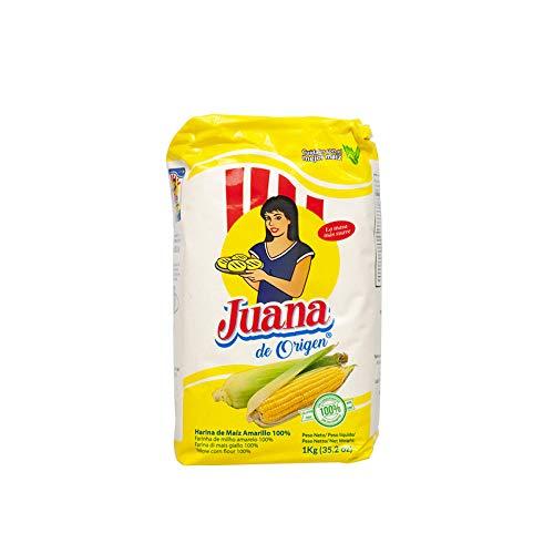 JUANA de Origen - Harina de Maiz Amarillo, 1 kg