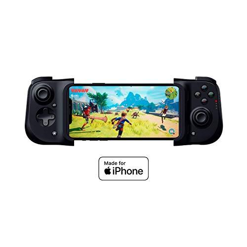 Razer Kishi für iOS (iPhone) – Smartphone Gaming Controller (USB-C Anschluss, Ergonomisches Design, Individuelle Passform, Analog-Stick, Ultra niedrige Latenz) Schwarz - 7