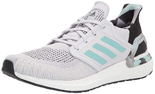 adidas mens Ultraboost 20,Dash Grey/Frost Mint,12 M US