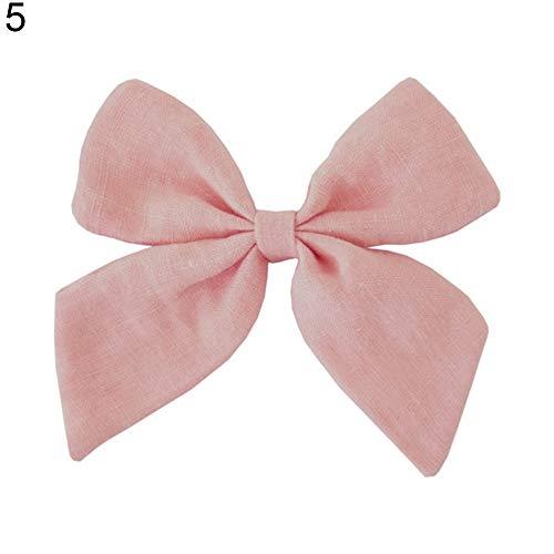 YOIL /él/égante Femme Pince /à cheveux Couleur Solide Grip Accessoires Acrylique rose Acrylique 8.5*5cm