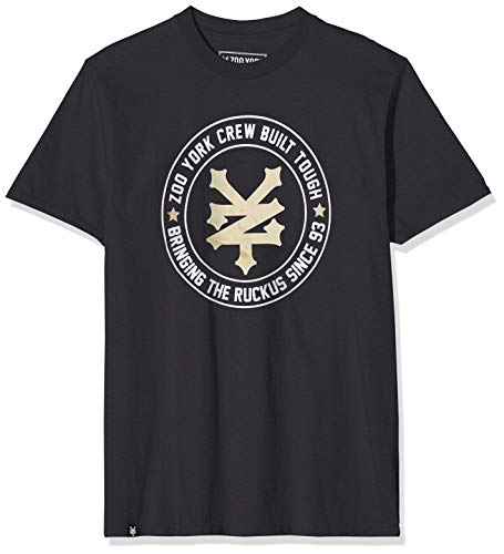 Zoo York T-Shirt Ruckus, Nero, XL Uomo
