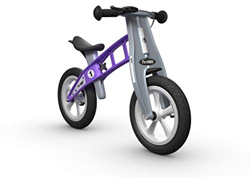 FirstBIKE Street Balance Bike with Brake, Violet - for Kids & Toddlers Ages 2,3,4,5