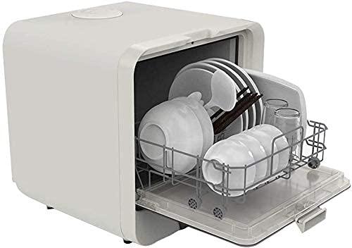 Mini Lavavajillas De 220 V, 4 Programas De Desinfección Rápida De Frutas, Consumo De Agua De 5 L, Mesa De Funcionamiento De Control Simple Lavavajillas Cocina Secador De Platos