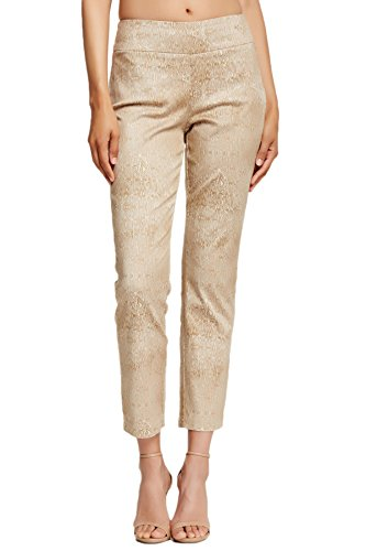 Miraclebody by Miraclesuit Women's Judy Ankle Pants 16 Natural