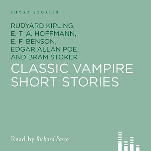 Classic Vampire Short Stories audiobook cover art