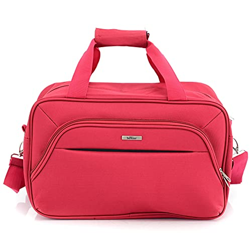 Bontour Air 40x20x25cm bagaglio a mano borsa per Ryanair Cabin Bag(Rosso)
