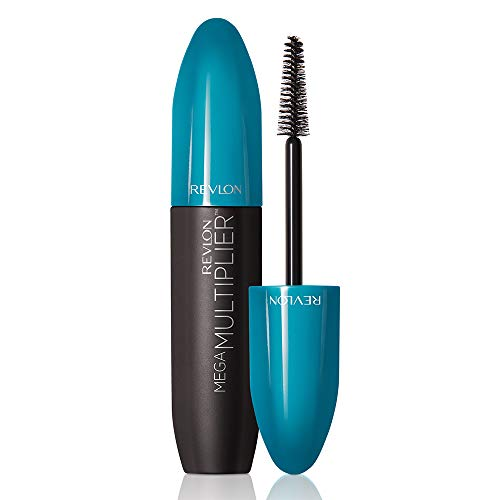 Revlon Mega Multiplier Mascara 801, blackest black, 1er Pack (1 x 8,5 ml)