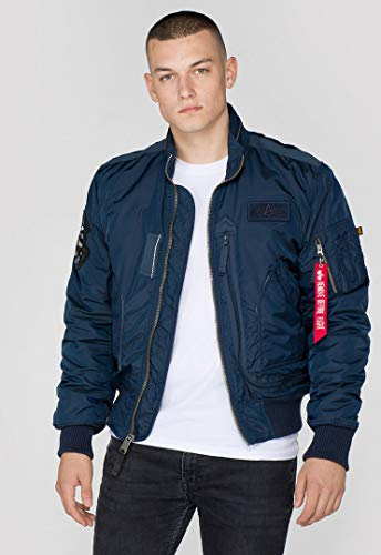 Alpha Industries Engine Veste mi-saison Rep. Blue,