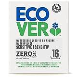 Ecover ZERO Waschpulver (1,2 kg/16 Waschladungen), Sensitiv Waschmittel mit pflanzenbasierten Inhaltsstoffen,...