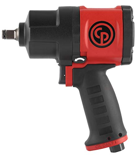Chicago Pneumatic CP7748 Composite Air Impact Wrench, 1/2-Inch Drive
