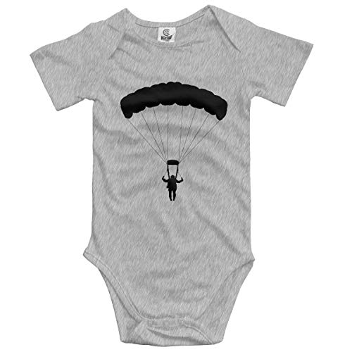 Klotr Ropa para Bebé Niñas Niños Parachute Newborn Bodysuits Short Sleeved Romper Jumpsuit Outfit Set