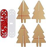 dh-15 Kit de Circuito de árbol de Navidad Decoración navideña Kit de Circuito de Flash LED Decorativo Fiesta automática