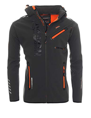 Geographical Norway Softshell Jacke G-River - Grey - L