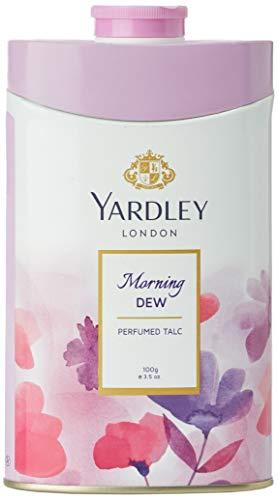 Yardley London Morning Dew Parfümierter Talk für Frauen, 100g